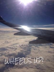 wheels up