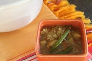 Peruvian Quinoa Soup bowl