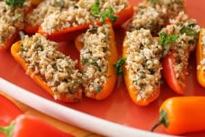 tabouli stuffed peppers