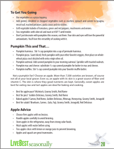 Livebest seasonally p20 pumpkin and apples