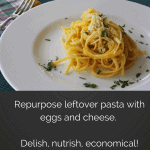 Egg and Cheese Pasta