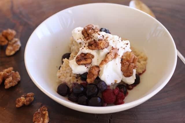 Chai Walnuts   This easy recipe wraps spices around toasty walnuts. Low sugar keeps them healthy! www.LiveBest.info