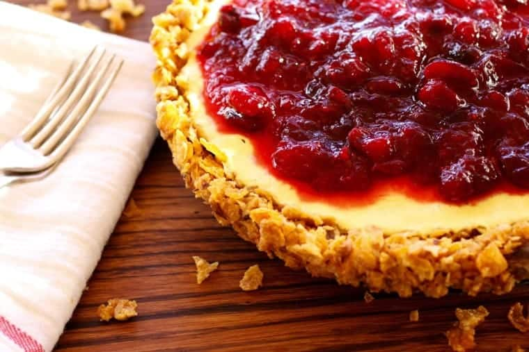 Orange Cranberry Tart recipe | Pie for breakfast? Yep! I wouldn't steer you wrong at the breakfast table. Yogurt, cereal, walnuts, eggs and fruit. It's almost too good to be true! www.LiveBest.info