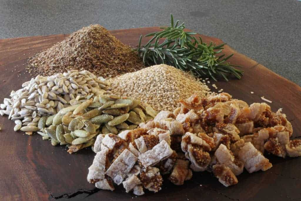 dried figs and rosemary