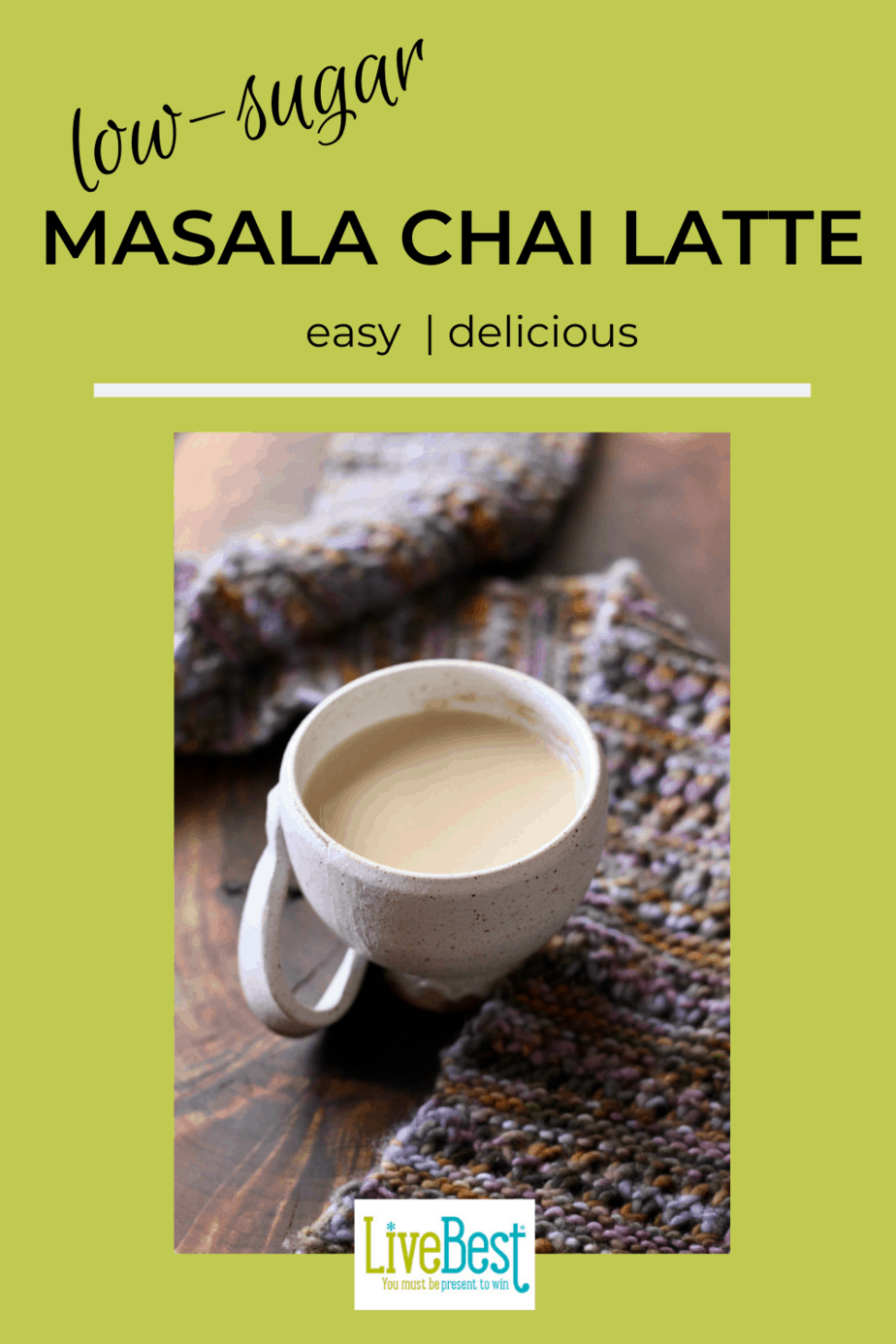 mug of Masala Chai Tea Latte
