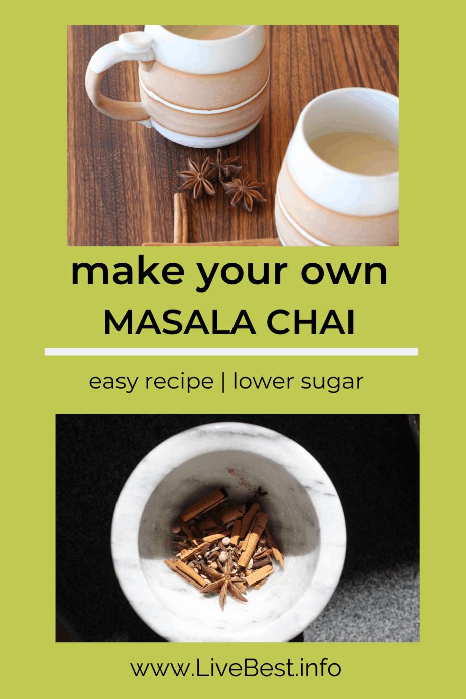 2 mugs of masala chai