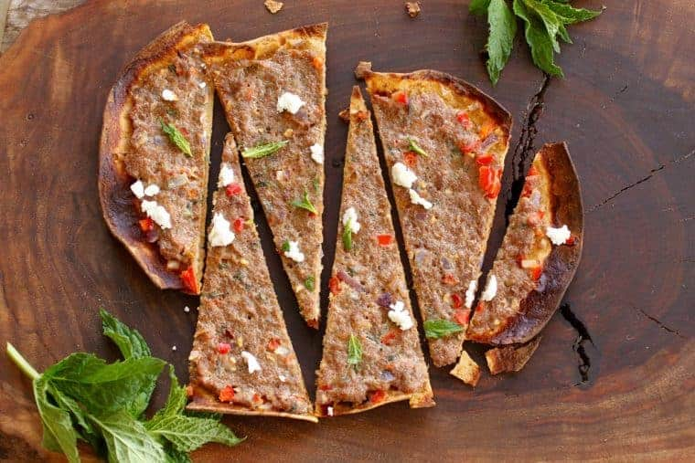 Turkey Flatbread | 6 ways to use flatbread including a grilled Turkish one that is delish! www.LiveBest.info