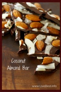 Coconut Almond Bar | Quick and easy dessert or hostess gift. Oh, and worth every bite! www.LiveBest.info