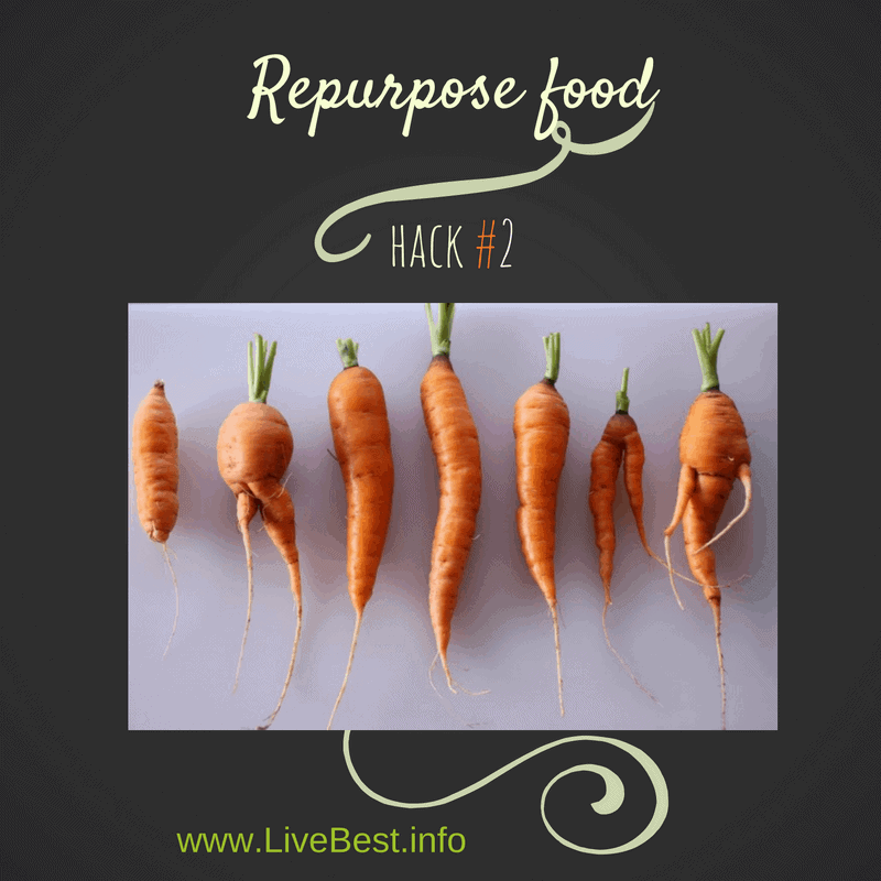 Repurpose Vegetables Food Hack #2