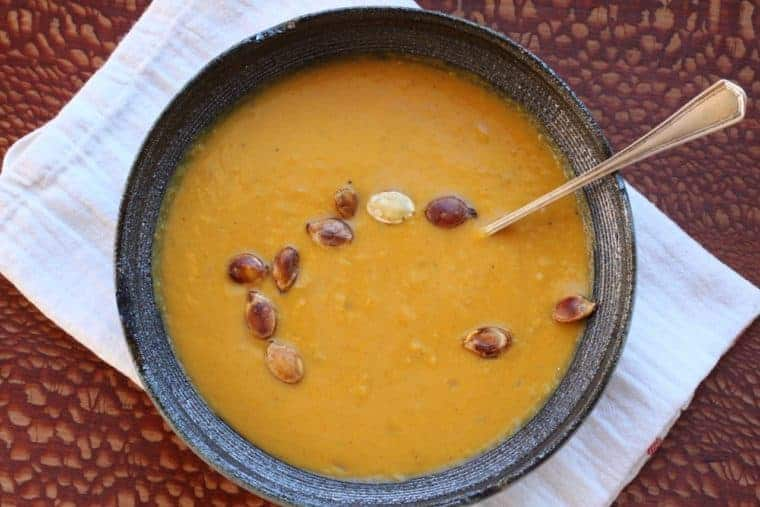 Thai Squash Soup | Satisfying soup recipe from www.LiveBest.info