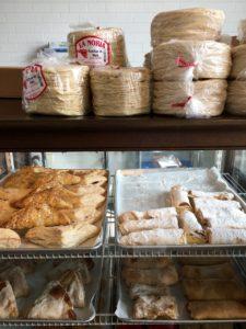 pastries and tortillas are La Estrella bakery, tucson