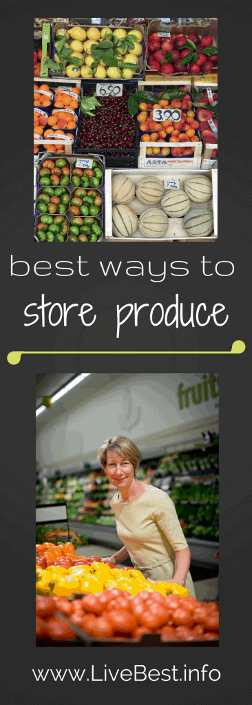 Best ways to store produce to save money. Some go int eh fridge and some prefer a pantry. Repurpose Food is a LiveBest series where I share delicious ways to reduce food waste. Join me as we repurpose fruit to create bestovers - one delicious bite at a time! www.LiveBest.info