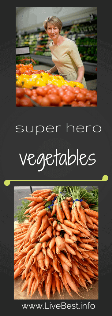 A gold mine of good, vegetables are one of the healthiest foods! Real food deliciously. www.LiveBest.info