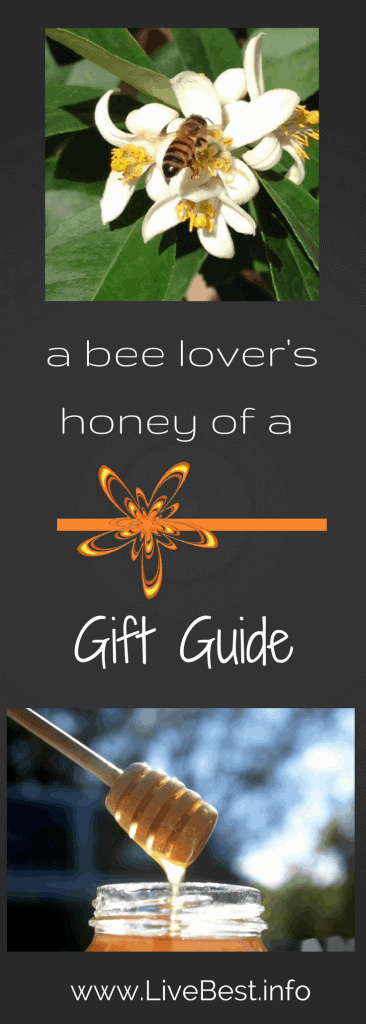 Bee and Honey Lover's Gift guide. www.LiveBest.info