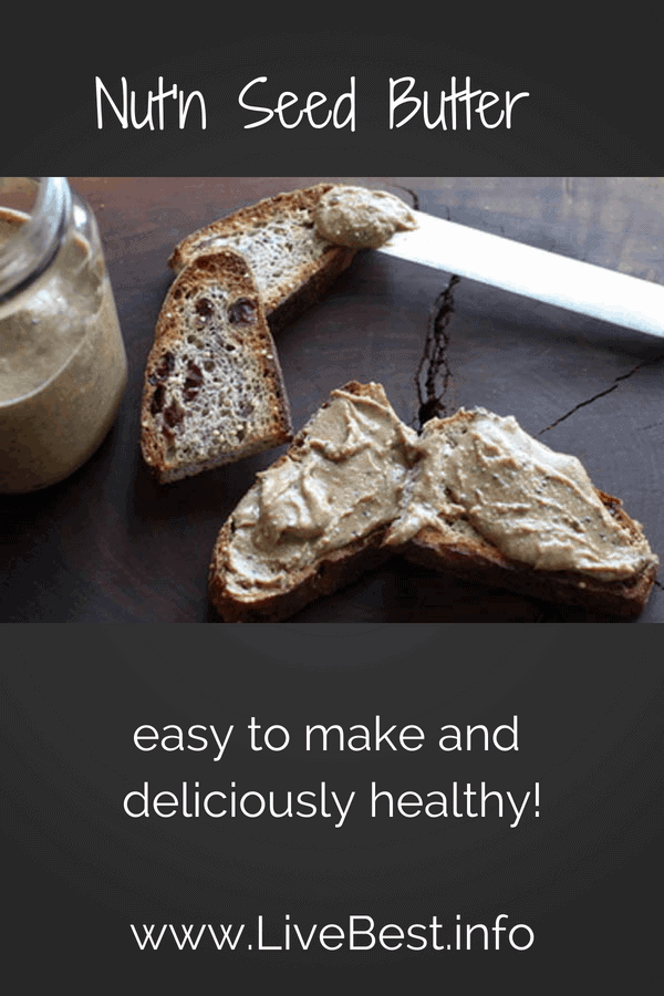 Nut'n Seed Butter toast