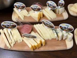 Benedictine monk cheese tray , Quebec