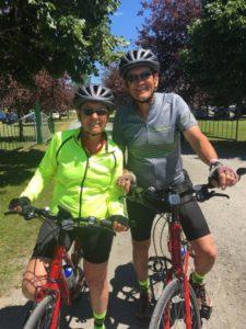 Bike riding friends, VBT., photo by Judy Barbe, LiveBest.info