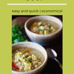 two bowls of corn jalapeno soup