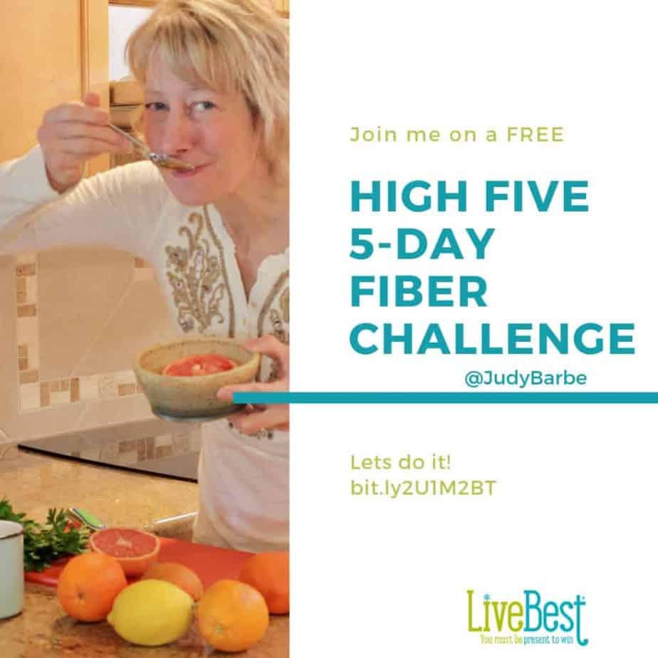High Five Fiber challenge ad