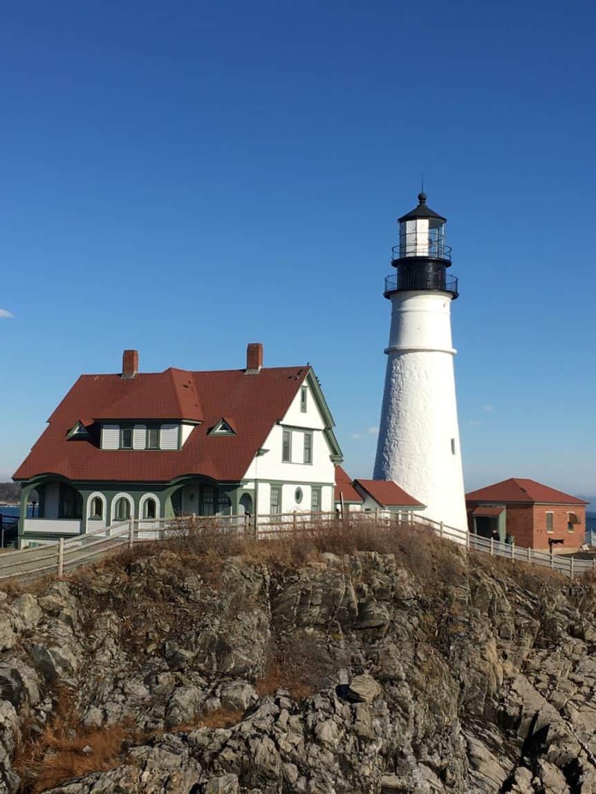 Portland Head Lamp lighthouse
